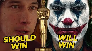Oscars 2020: Who Should Win Every Award (And Who Actually Will)