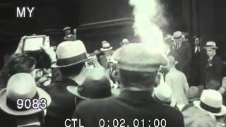 1931 Al Capone Leaving Courthouse, Chicago