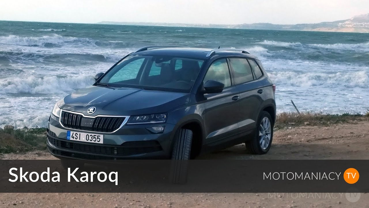 skoda karoq test prezentacja pierwsza jazda youtube. Black Bedroom Furniture Sets. Home Design Ideas