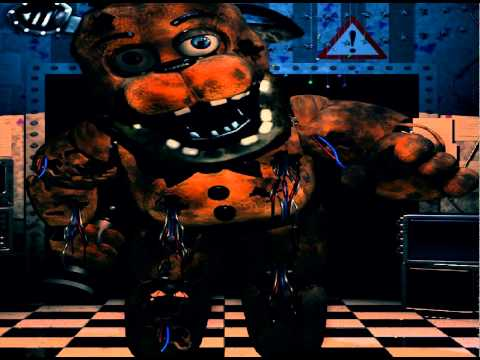 Freddy 0 1 sings five nights at freddys youtube