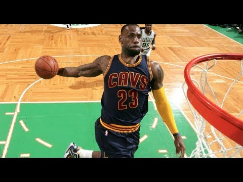 promo code d3952 9fdb4 LeBron James  10 Dunks That Were Too Good For His Age
