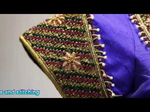 Saree blouse, Blouse Cutting and Stitching, Designs 6