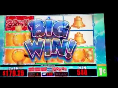 Fruit Cocktail Deluxe Slot Machine $1.60 Max Bet Newcastle Casino Newcastle, Oklahoma