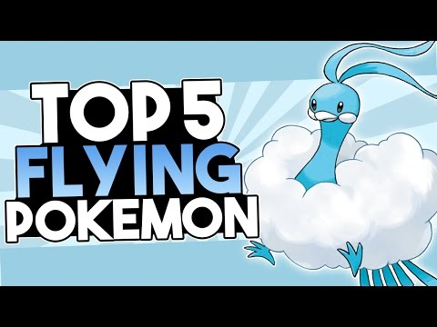 Top 5 Flying Type Pokémon