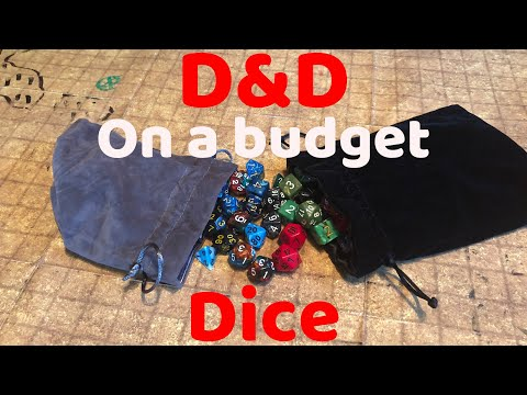 D&D on a budget how to find cheap D&D/RPG Dice