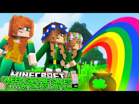 QUEEN SOPHIE SAVES LITTLE CARLY AND LITTLE KELLY!! (St. Patrick's Day Custom Mini Game)