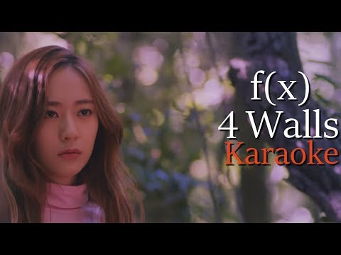 F(x) - 4 Walls [Official Instrumental - Backup Vocals]