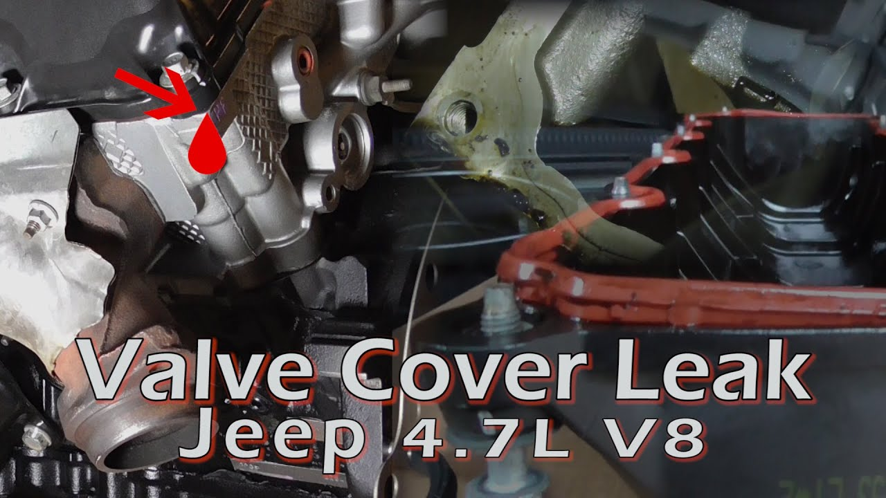 Valve Cover Gasket Leak Youtube