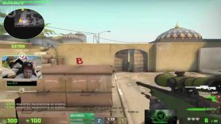 CS:GO - Hiko Crazy 1 vs 5 Clutch On Stream