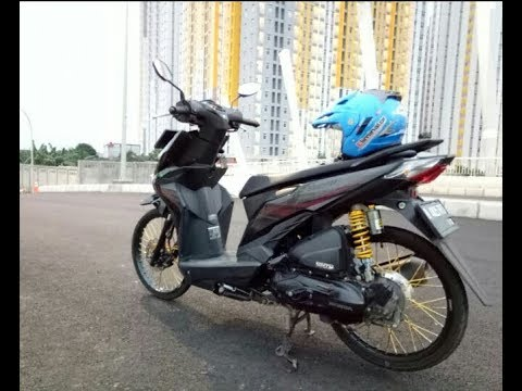 Modifikasi motor Beat FI 2017 || Ring 17