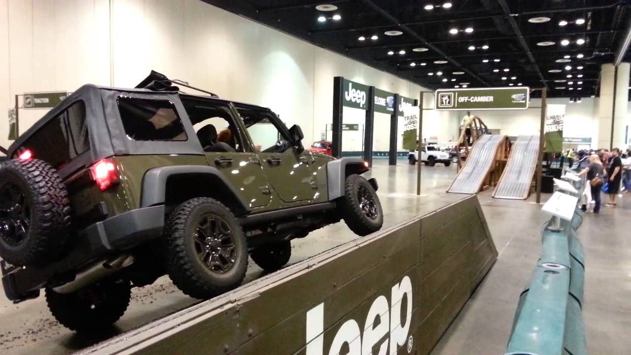 Orlando Auto Show >> Jeep Test Drive Test Track At The Central Florida