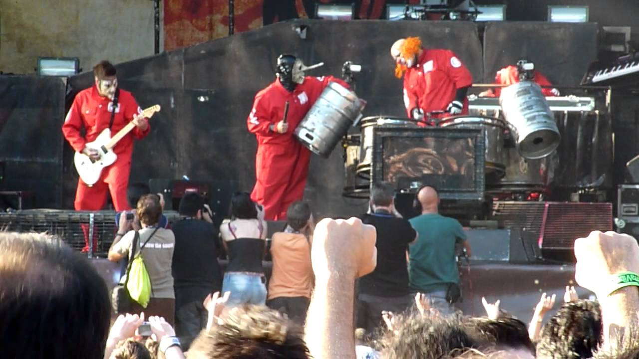 SLIPKNOT's First Show Since Death Of PAUL GRAY: HD Video Footage