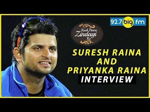 Suresh Raina and Priyanka Raina Interview | Kuch Panne Zindagi Ke
