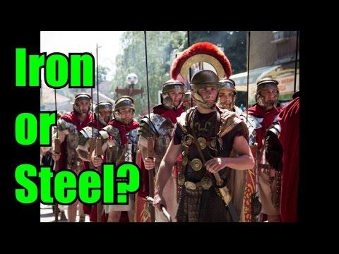 Roman Armour - Iron or Steel?