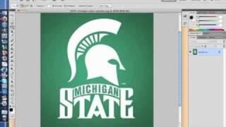 Speed Art - Michigan State