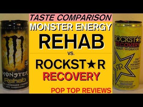 (30) Taste Comparison: Monster Energy Rehab & Rockstar Recovery