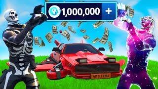 So I Spent 1 000 000 V Bux In Fortnite
