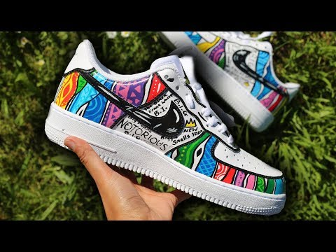 Notorious B.I.G. Nike Air Force One COOGI Customs