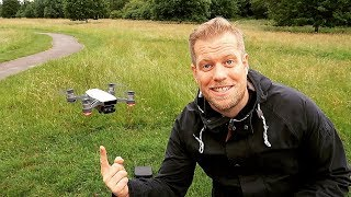 DJI SPARK / DRONE TEST FLIGHT & REVIEW