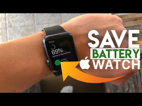 How To Save Battery Life On Apple Watch