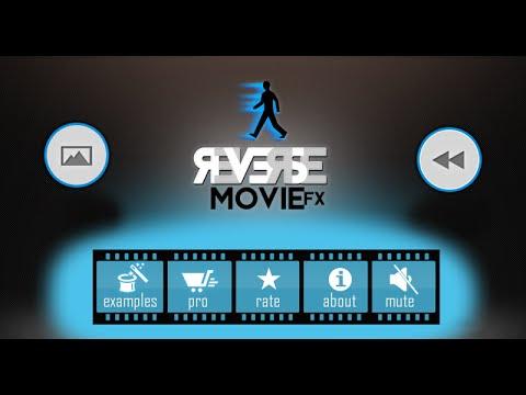 تطبيق Reverse Movie FX يعكس لقطات الفيديو لانشاء فيديو سحري