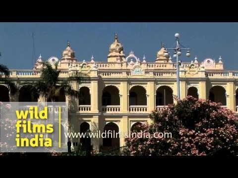 Tipu Sultan's majestic Palace, Mysore