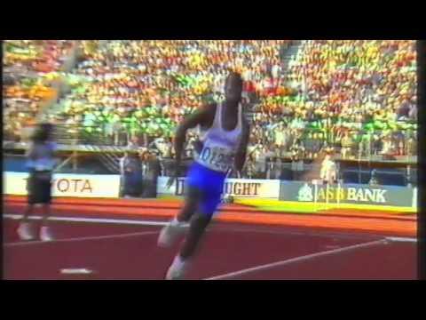 2483 Commonwealth Track & Field 1990 High Jump Men Nick Saunders