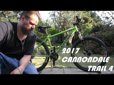 daa93fa9159 2017 Cannondale Trail 4 - Bike Check! - YouTube