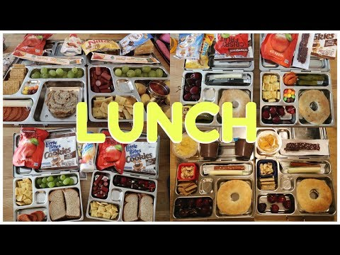 School Lunch Ideas 🍒 Week 21 | Sarah Rae Vlogas |