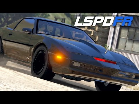 LSPDFR E139 - KITT from Knight Rider | Chase Me