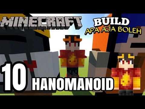 MEMBUAT PATUNG HANOMANOID [BUILD APA AJA BOLEH] #10