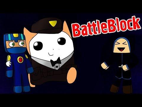продолжаем играть в игру BattleBlock Theater