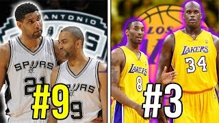Ranking The 10 Greatest DUOS of All-Time