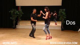 12 Salsa Cuban Steps: Dos