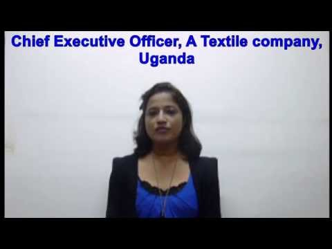 SENIOR MANAGEMENT JOBS IN AFRICA - CEO FOR TEXTILE COMPANY IN UGANDA