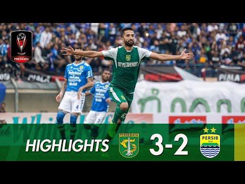 [HIGHLIGHTS] Persebaya vs Persib   Grup A Piala Presiden 2019