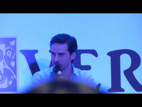 Colin O'Donoghue talks about Michael RaymondJames in the Panel at Ever After Rio 2015 Part 7