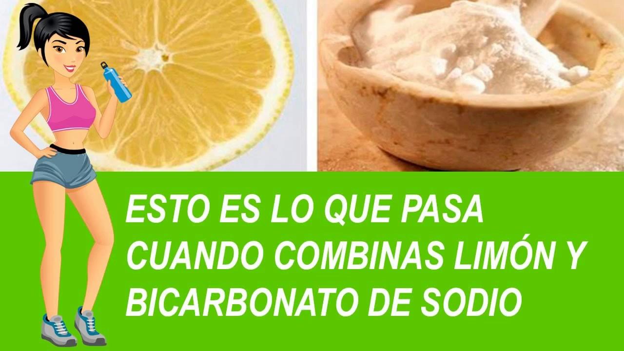 Agua con bicarbonato de sodio para bajar de peso