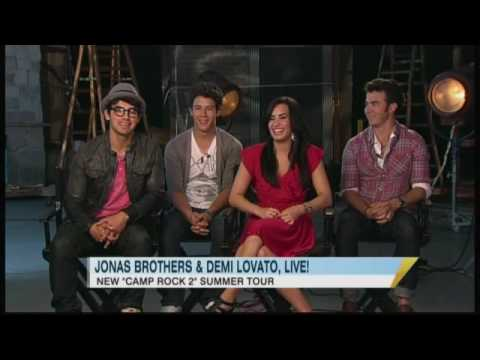 Catching Up With Jonas Brothers and Demi Lovato