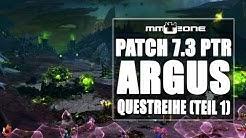WoW Legion Patch 7.3 PTR - Questreihe auf Argus - Reise und Ankunft (Teil 1)