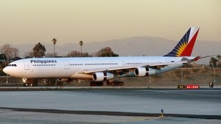 Philippine Airlines Airbus A340-313X [RP-C3430] at LAX