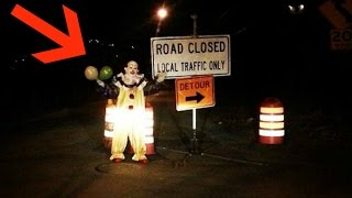 hunting for creepy clowns