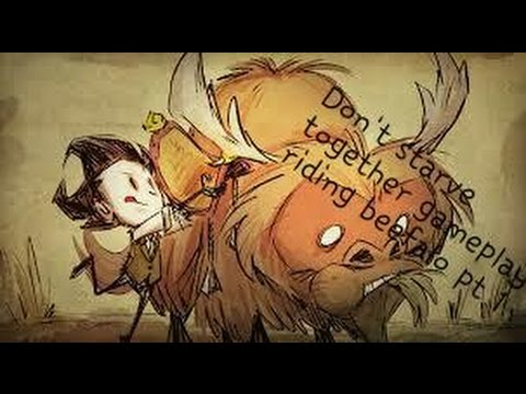 Don\u0027t starve together gameplay: taming and riding beefalo pt1 - YouTube