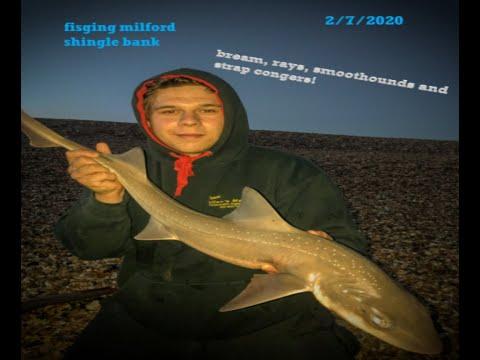 Beach Fishing| Milford Shingle Bank For Rays