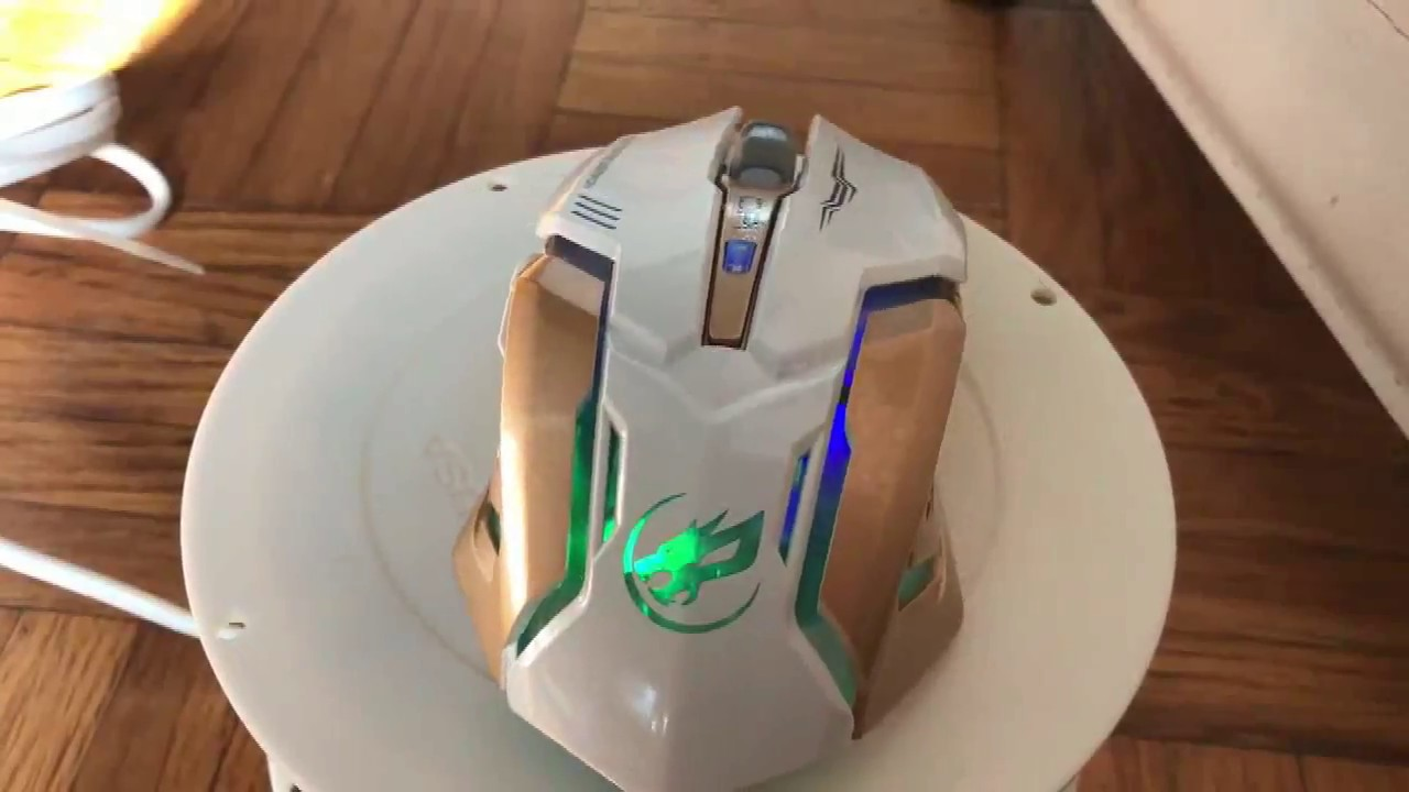 WAR WOLF Rechargeable 2 4GHz Wireless Gaming Mouse Backlight USB Optical  Gamer Mice for Computer