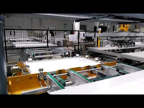 Automatic framing machine for solar PV modules or panel