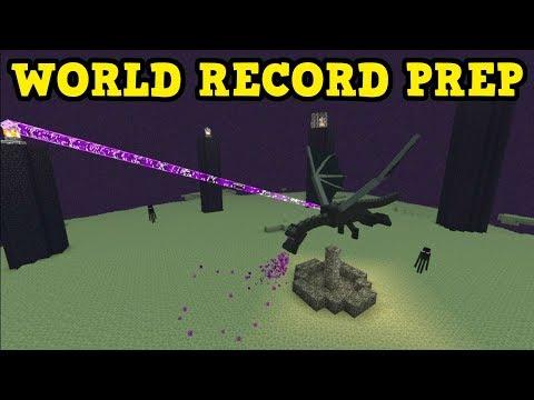 Minecraft Xbox / PE - World Record Practice!