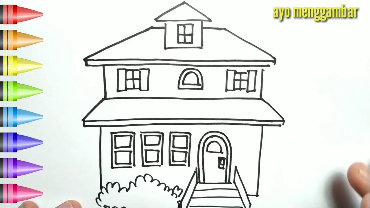 1030 Gambar Rumah Kartun Yang Indah HD Gambar