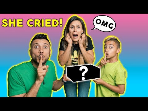 MOTHER'S DAY GIFT BRINGS MOM TO TEARS! **EMOTIONAL** | The Royalty Family