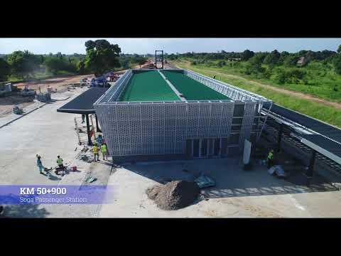 DSM November 2019 Progress Video; Standard Gauge Railway Line From Dar Es Salaam To Morogoro